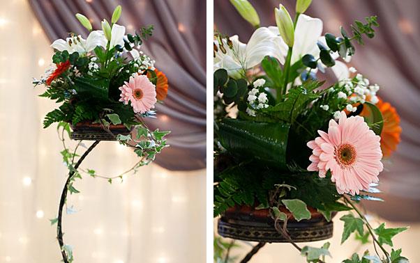 Aranjamente florale targ nunta Bacau 2012